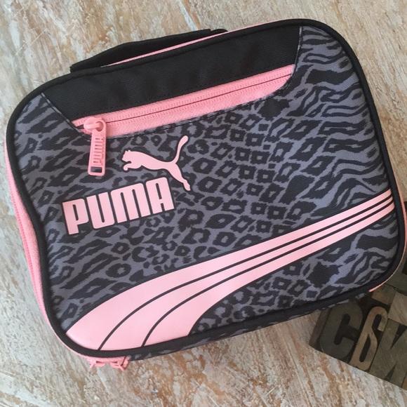 25f5aab8c75 PUMA Form Stripe Cheetah Print Lunch Box. M_5b65b5dedcfb5a390a4d9340